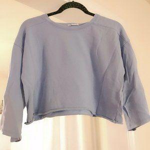 Preowned Zara Women's Fashion Cropped Sweater